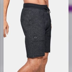 NWT- UNDER ARMOUR Speckle Terry Shorts